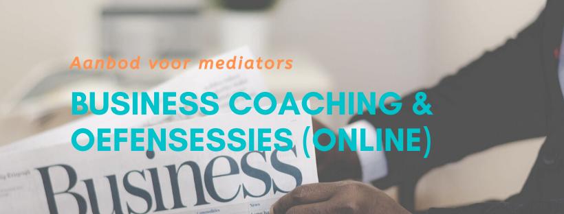 ondernemen en mediation