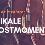 Muzikale troost - tips van de mediator