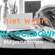 Tips tijdens lockdown